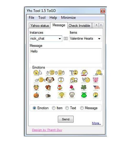 Cách tạo ấn tượng trên Yahoo! Messenger - 2