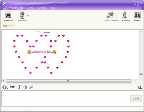 Cách tạo ấn tượng trên Yahoo! Messenger - 3