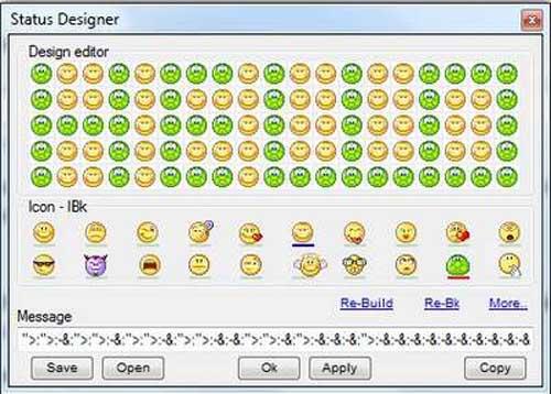 Cách tạo ấn tượng trên Yahoo! Messenger - 6