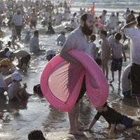 Bãi biển không 1 bóng bikini