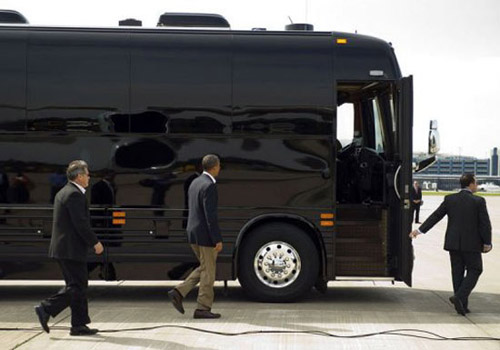 Chiếc xe buýt giá 1,1 triệu USD của Obama - 7