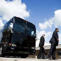 Chiếc xe buýt giá 1,1 triệu USD của Obama