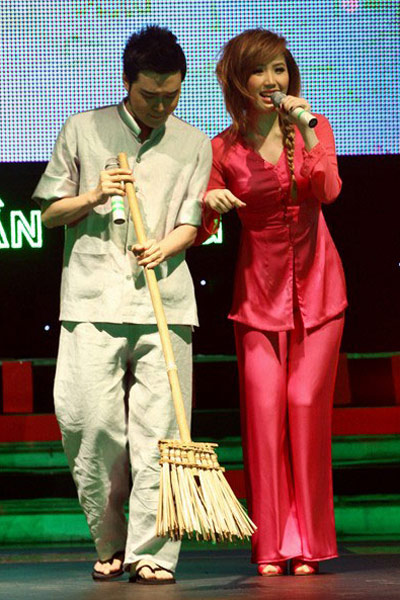 Chấm điểm sao Việt xấu đẹp với áo bà ba - 20