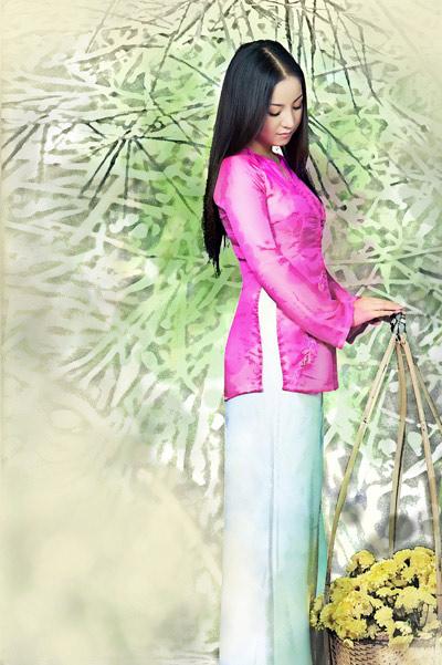 Chấm điểm sao Việt xấu đẹp với áo bà ba - 14