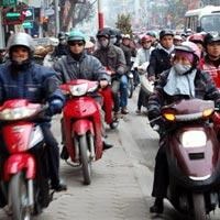 Đề xuất cấm xe máy trong giờ cao điểm