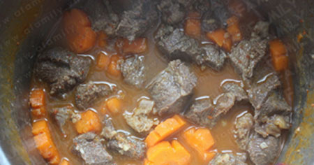Mềm thơm thịt bò nấu bia - 6