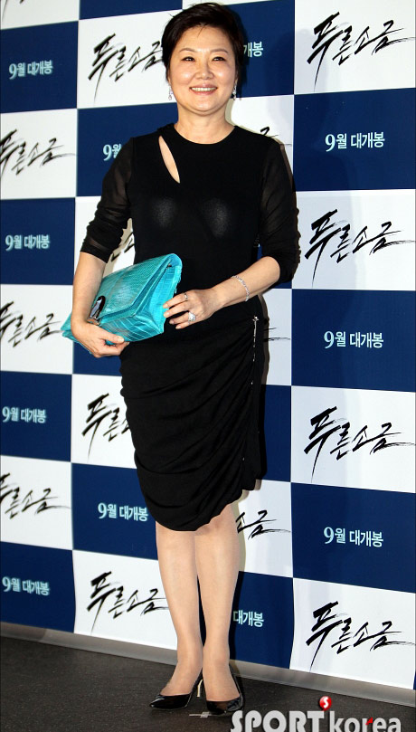 """Kim Hye Soo khoe ngực """"xịn"""" với váy mỏng - 15"""