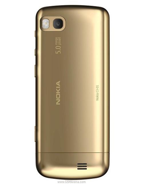 Nokia C3-01 mạ vàng mãn nhãn - 3