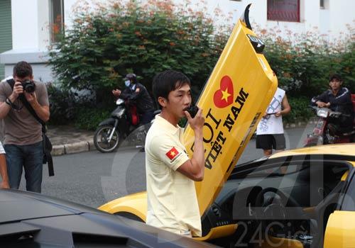 Siêu xe tụ hội trước nhà  Hà Hồ, Cường đôla - 2