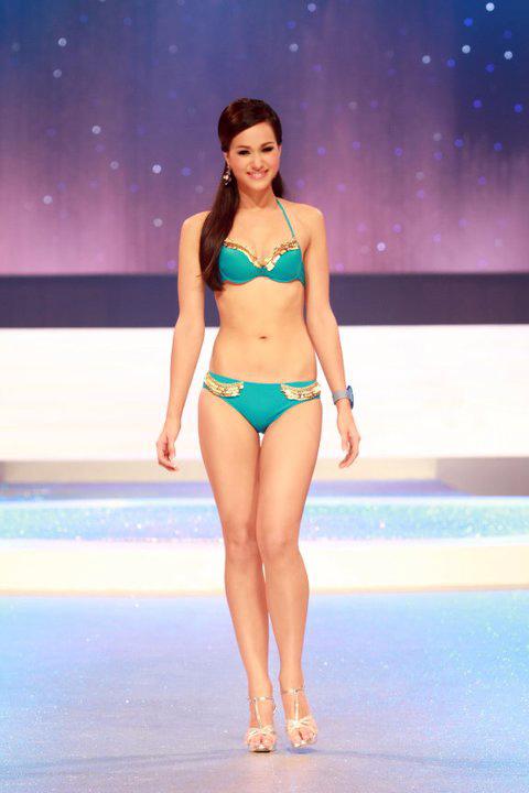 Lộ diện nhan sắc tân Hoa hậu Thái Lan - 1