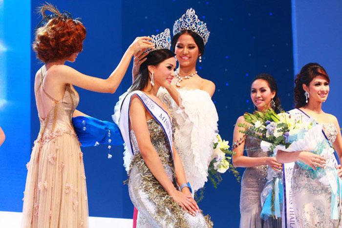 Lộ diện nhan sắc tân Hoa hậu Thái Lan - 6