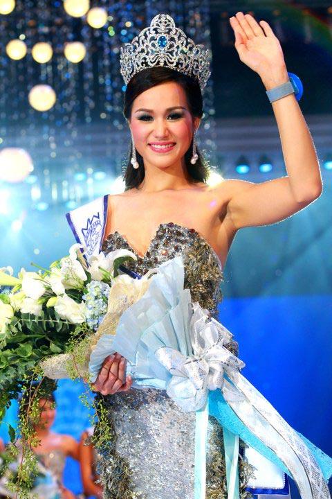 Lộ diện nhan sắc tân Hoa hậu Thái Lan - 7