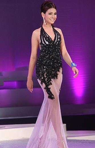 Lộ diện nhan sắc tân Hoa hậu Thái Lan - 12