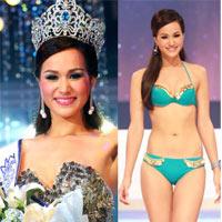 Lộ diện nhan sắc tân Hoa hậu Thái Lan