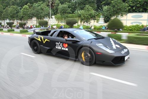 Đoàn siêu xe triệu đô diễu phố Sài Thành - 6