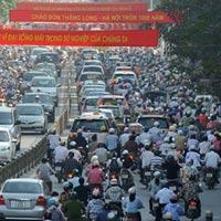 Đề án cấm xe máy sẽ được trình cuối 2012