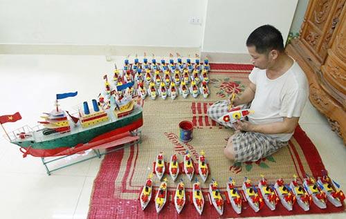 """Tàu thủy đồ chơi """"công nghệ"""" Việt xuất ngoại - 10"""