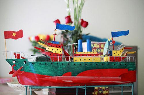 """Tàu thủy đồ chơi """"công nghệ"""" Việt xuất ngoại - 6"""