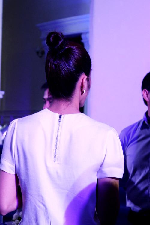 Tăng Thanh Hà búi tóc oca đáng yêu - 3