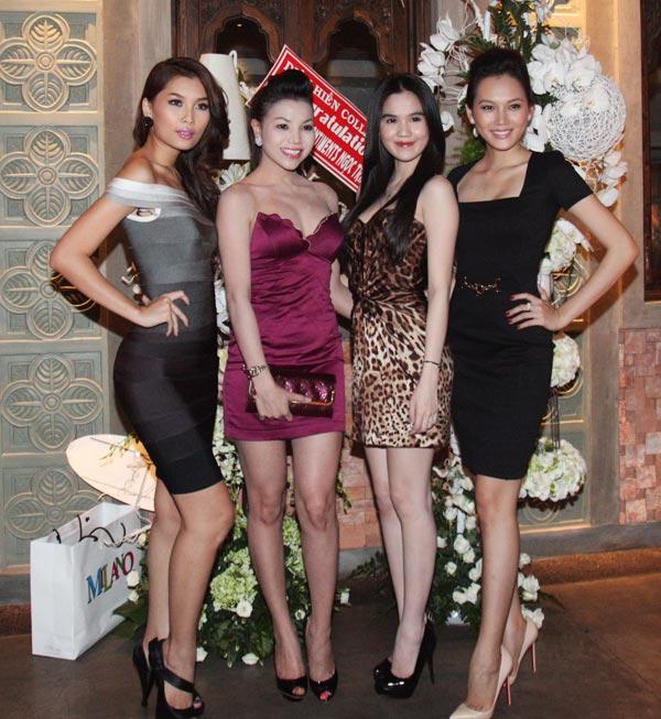 Trà Ngọc Hằng sexy dự tiệc Ngọc Trinh - 9