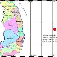 Động đất ở Phú Yên: Tính sai do ở xa
