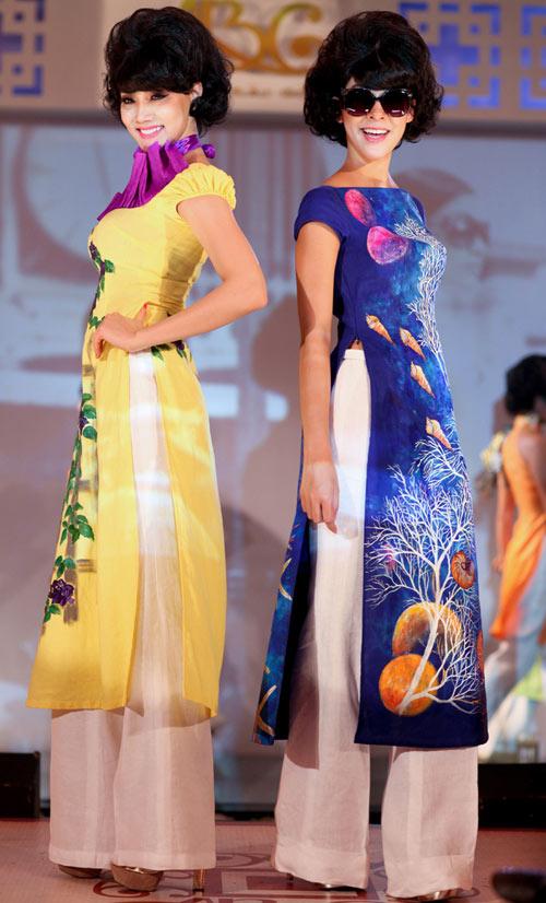 Show thời trang áo dài đầy mê hoặc - 5