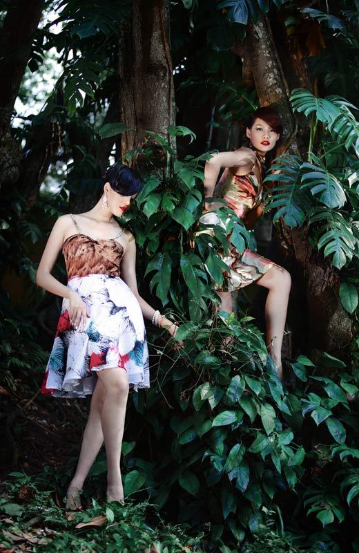 Chọn váy hoa cho mùa Thu - 1