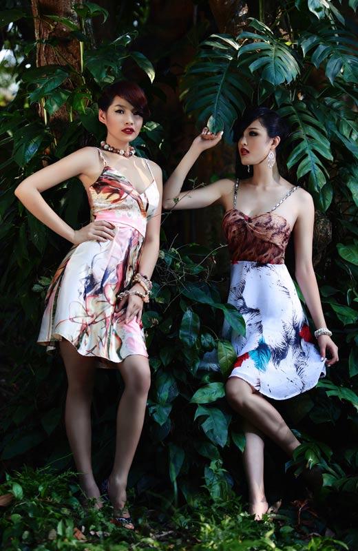 Chọn váy hoa cho mùa Thu - 2