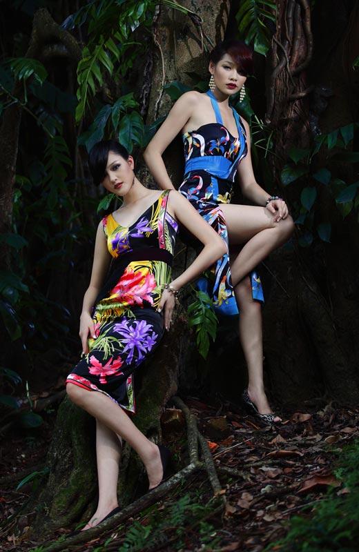 Chọn váy hoa cho mùa Thu - 3