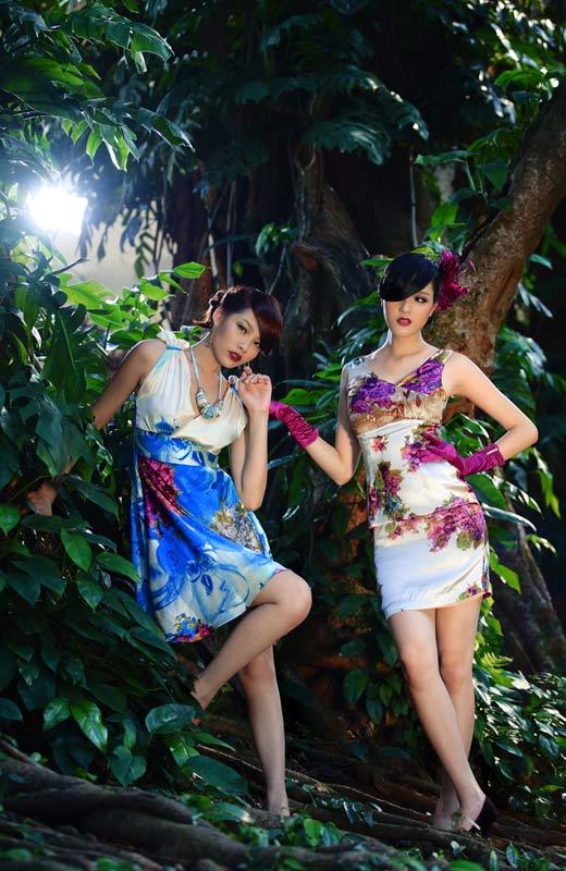 Chọn váy hoa cho mùa Thu - 5