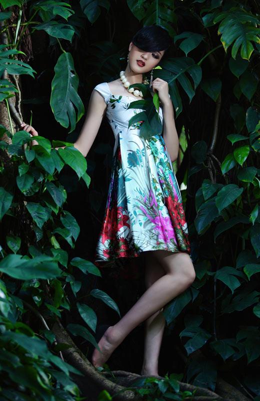 Chọn váy hoa cho mùa Thu - 9