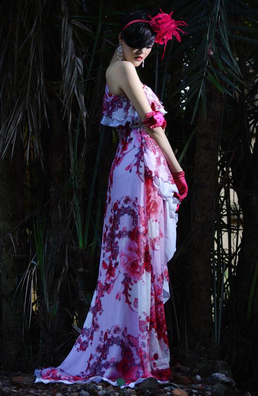 Chọn váy hoa cho mùa Thu - 11