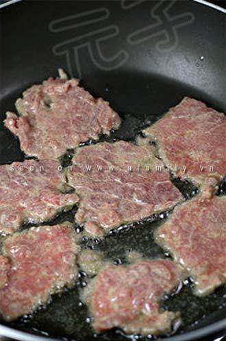 Ngày nghỉ, làm bánh cuộn thịt bò - 8