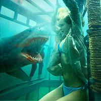 Đầm cá mập: Sợ hãi tột đỉnh với 3D