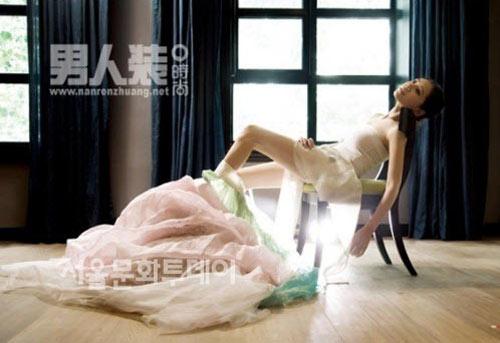 Chu Ja Hyun lại nude với hanbok - 4