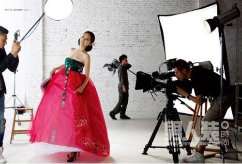 Chu Ja Hyun lại nude với hanbok - 5