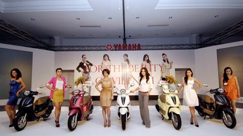 Yamaha Việt Nam tung ra thị trường xe tay ga mới Nozza - 1