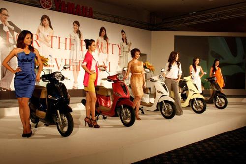 Yamaha Việt Nam tung ra thị trường xe tay ga mới Nozza - 3