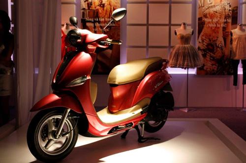 Yamaha Việt Nam tung ra thị trường xe tay ga mới Nozza - 11