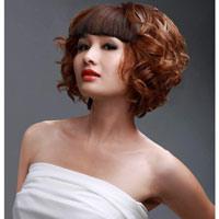 Sự mê hoặc của tóc xoăn ngắn