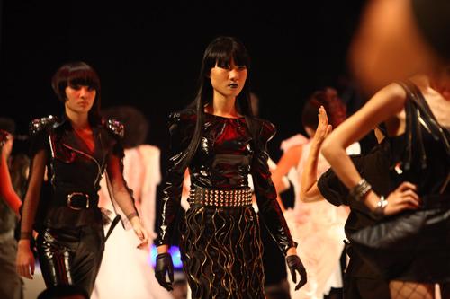 Khởi động show thời trang tóc 2011 - 1