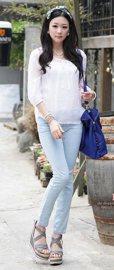 Tư vấn: Mặc jeans trong công sở mùa Thu - 13