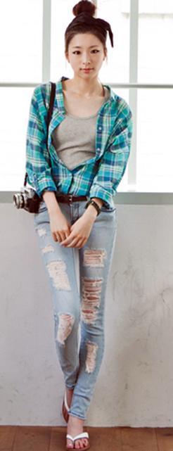 Tư vấn: Mặc jeans trong công sở mùa Thu - 18