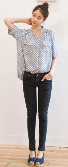 Tư vấn: Mặc jeans trong công sở mùa Thu - 2