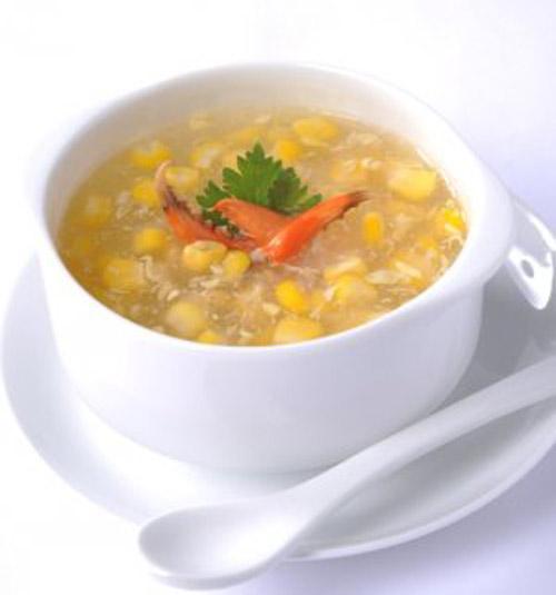 Nóng hổi súp bắp cua - 4