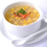 Nóng hổi súp bắp cua