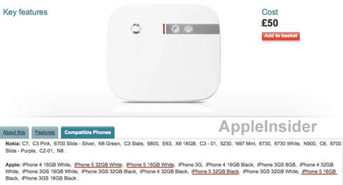 Xuất hiện iPhone 5 bản 16GB và 32GB màu trắng và đen? - 1