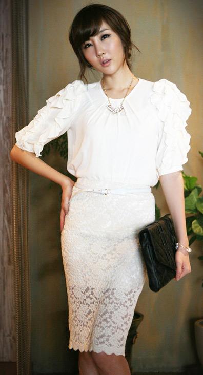 Tư vấn: Mặc quần short, váy ren mùa thu? - 5
