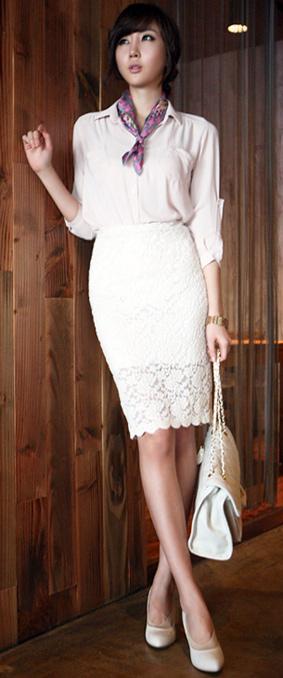 Tư vấn: Mặc quần short, váy ren mùa thu? - 6