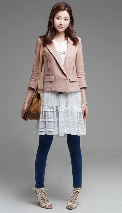 Tư vấn: Mặc quần short, váy ren mùa thu? - 18